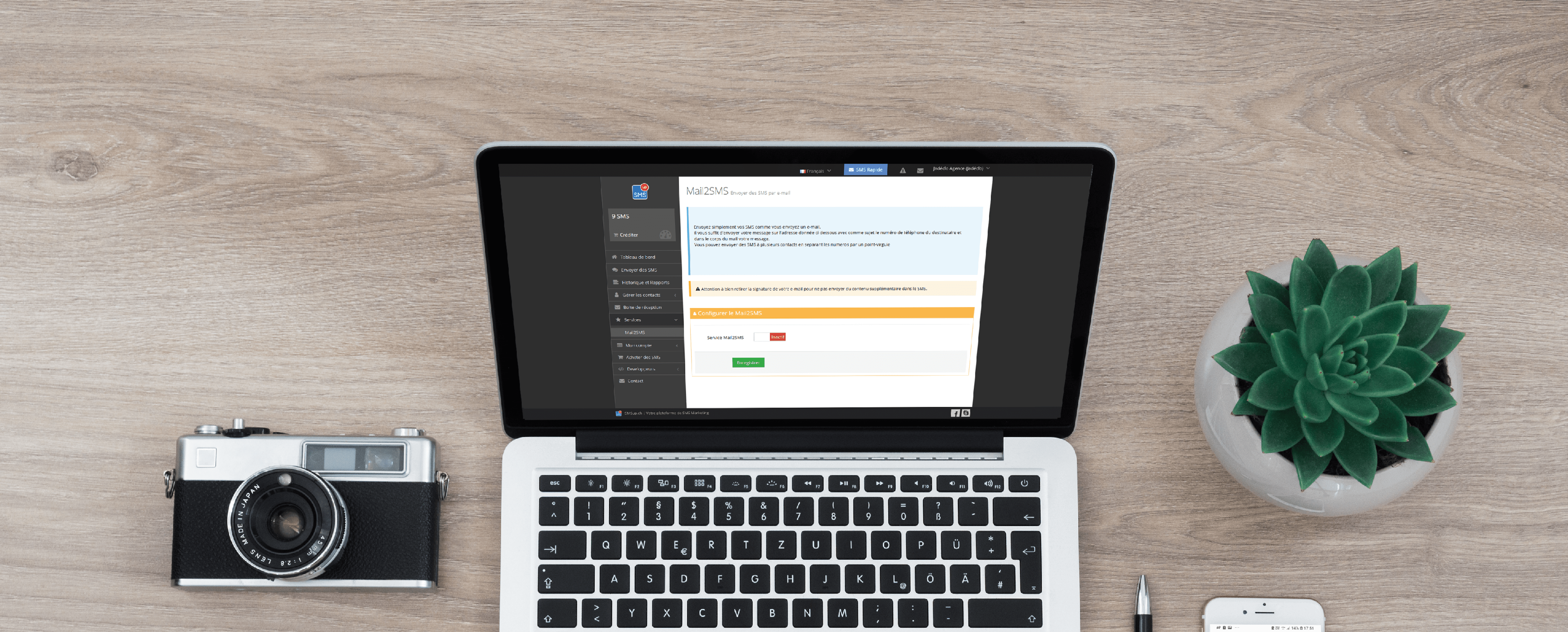 email to sms - smsup - sms professionnel