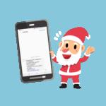Arrivez avant le père-noël avec une campagne sms pour Noël
