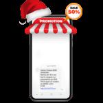 exemple de campagne sms pour noel