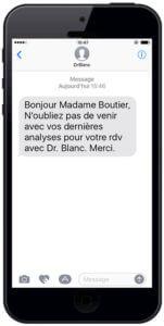 campagne sms professionnel pour les docteurs