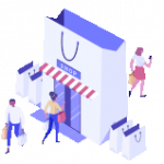illustration-magasin-smsup-commerciales-sms