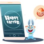 Soyez plus rapide que les cloches avec le sms professionnel pour Pâques !