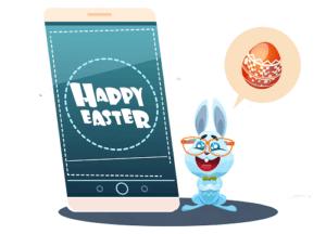 Pensez au SMS Professionnel pour Pâques pour booster vos ventes