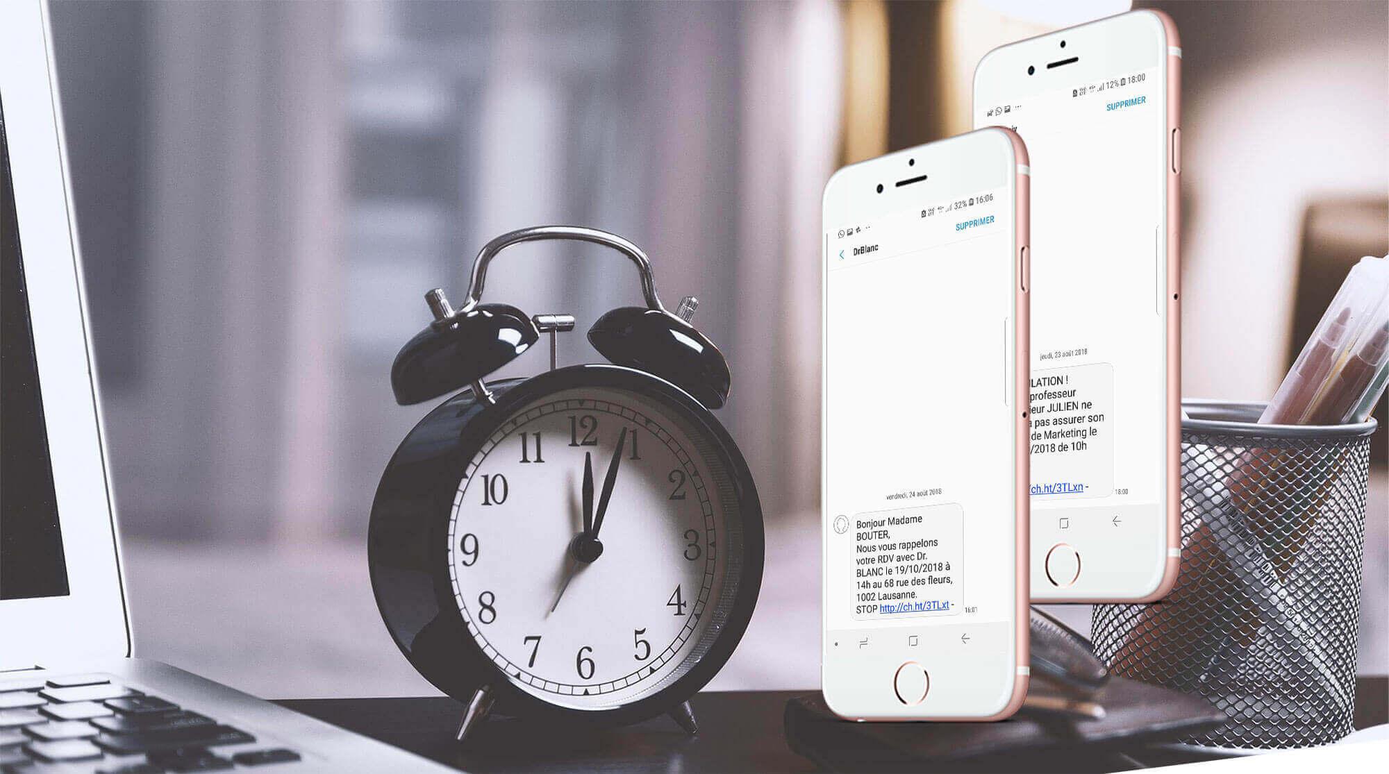 Le SMS Alerte avec SMSup