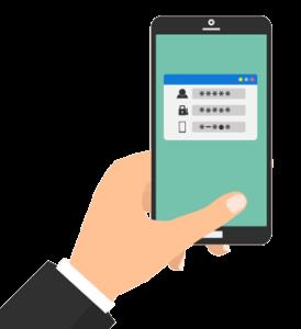 Zwei-Faktoren-Authentifizierung -mit-der- Authentifizierung-per-SMS