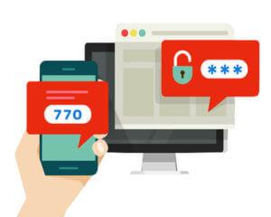 Sichere Transaktionen mit SMS-Authentifizierung