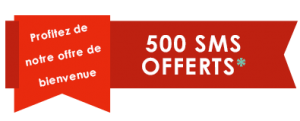 Offre 500 sms offerts