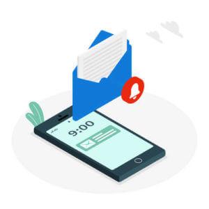 Communication de gestion de crise par SMS