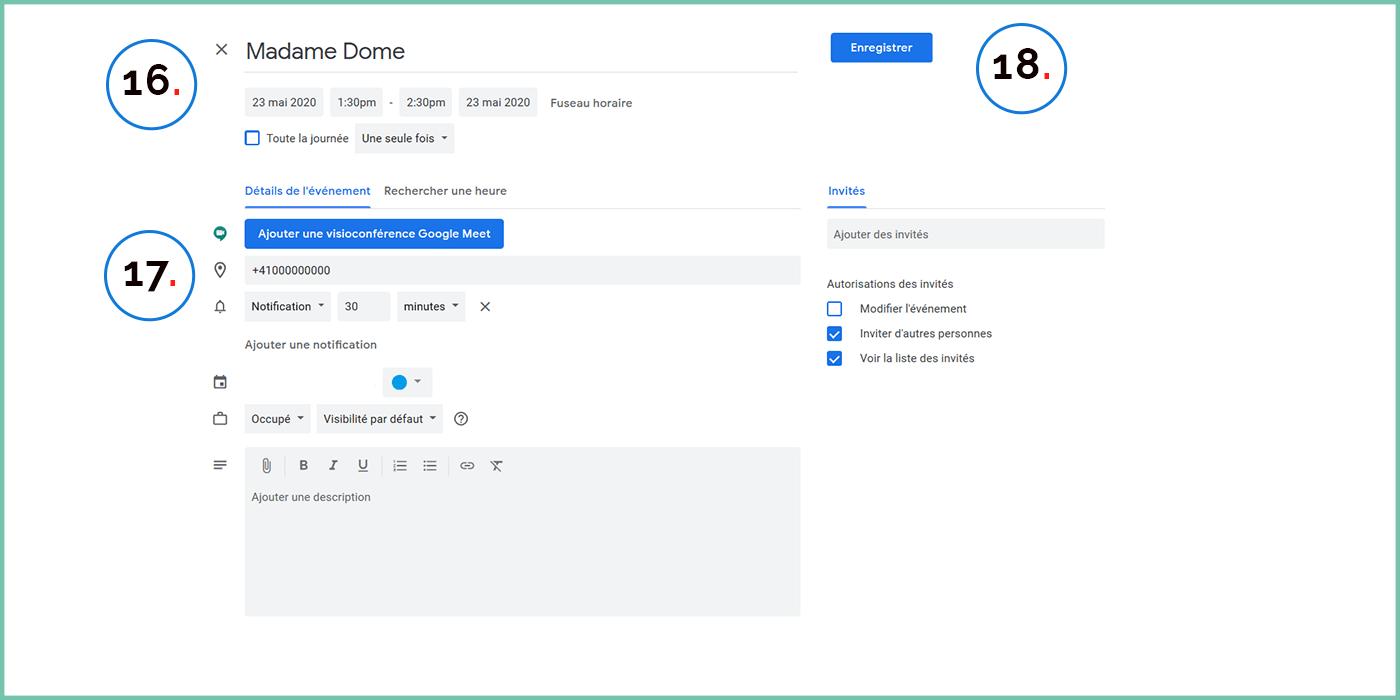Prenez vos rendez-vous avec Google Agenda