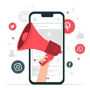 sms vs réseaux sociaux, avantage réseaux sociaux pour la portée