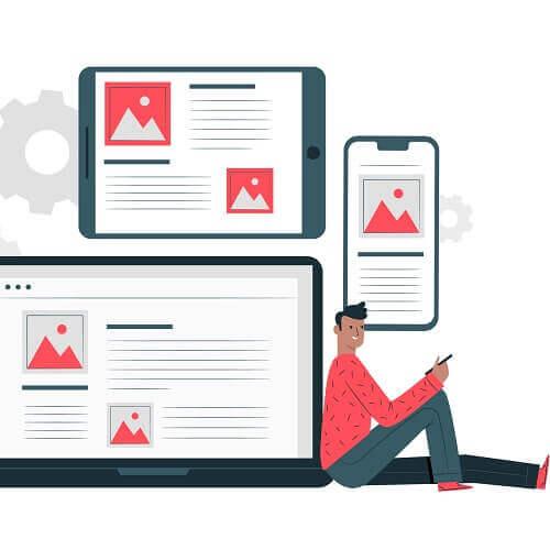 Herausfinden, ob Sie SMS oder Website bevorzugen