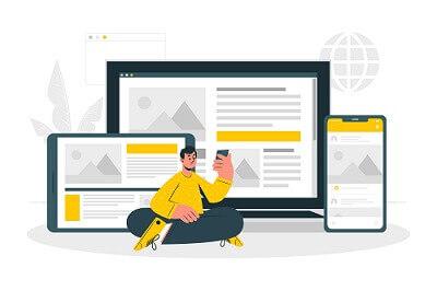 Professionelle SMS und Website kombinieren