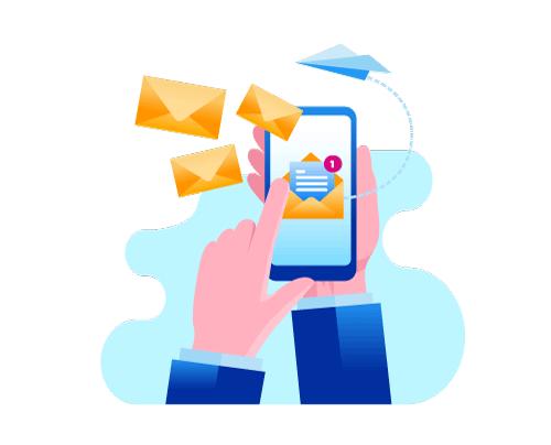 Exemple de SMS pro : envoi en masse